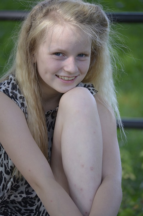 Blond, Girl, Lighting, Face, Close Up, Pretty