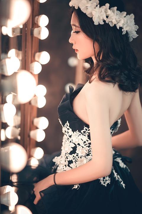 Beautiful, Woman, Girl, Young, Fashion, Dress, Pretty