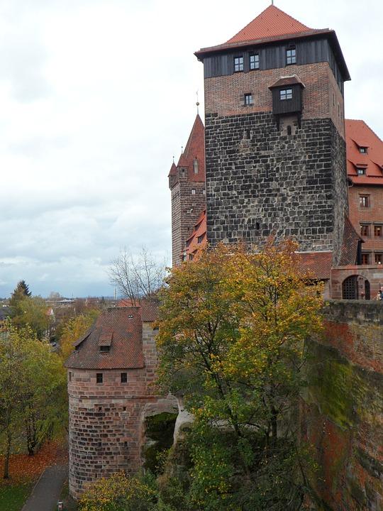Imperial Castle, Castle, Nuremberg, Stony, Pride