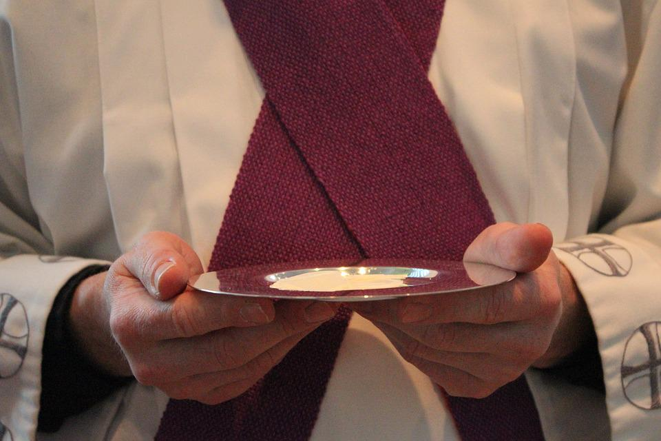 Holy Communion, Although, Priest, Communion Wafers