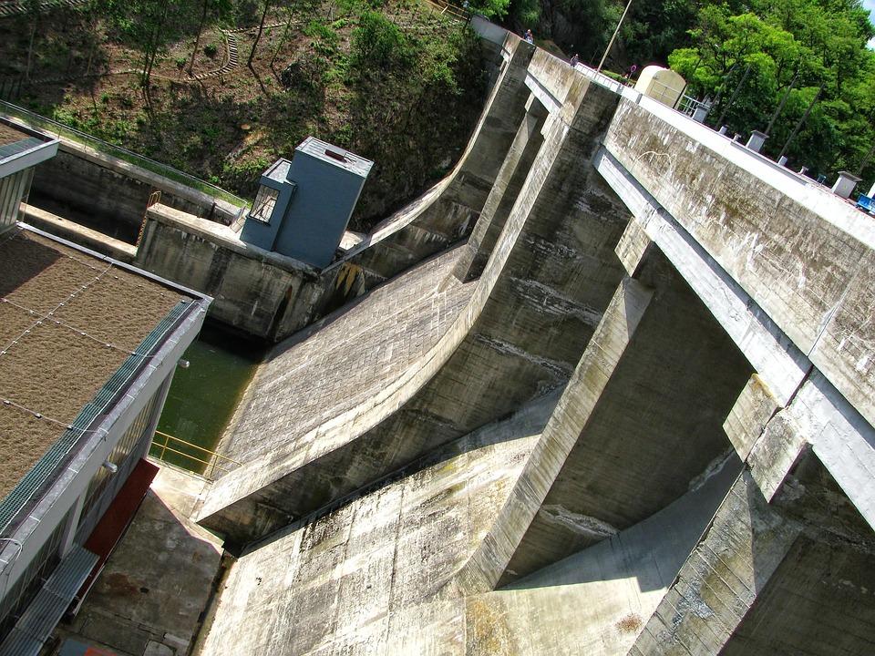 Dam, Concrete, Reservoir, Brno, Prigl, Construction