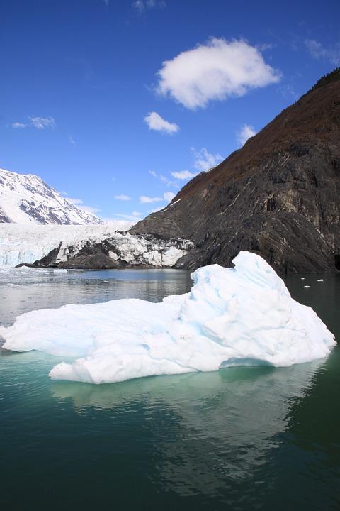 Prince William Sound, Iceberg, Sea, Nature, Water