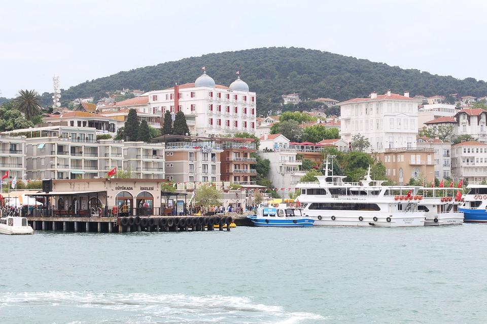 Prince's Island, Island, Istanbul, Ferry, Sea