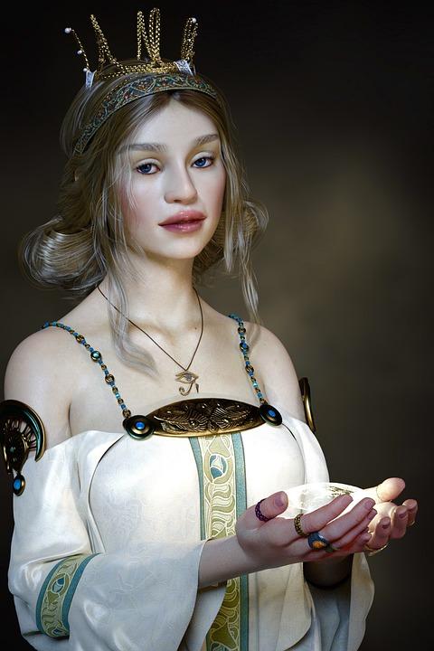 Princess, Historically, Fairy Tales, Fantasy, Fee