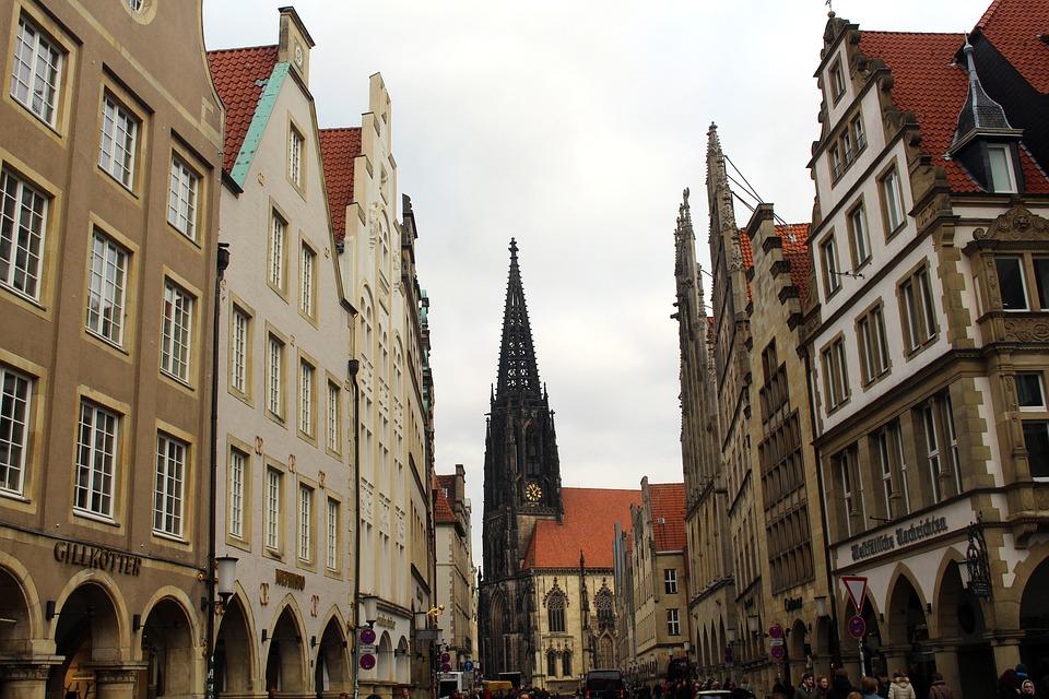 Münster, Principal Market, Westfalen