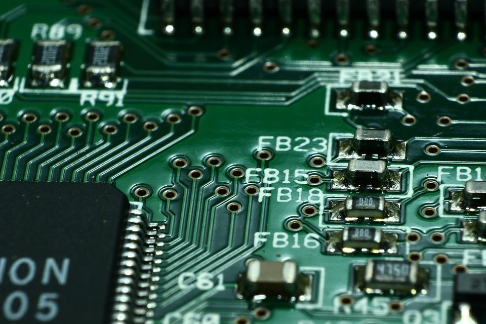 Free photo Print Plate Macro Printed Circuit Board Close Via - Max Pixel