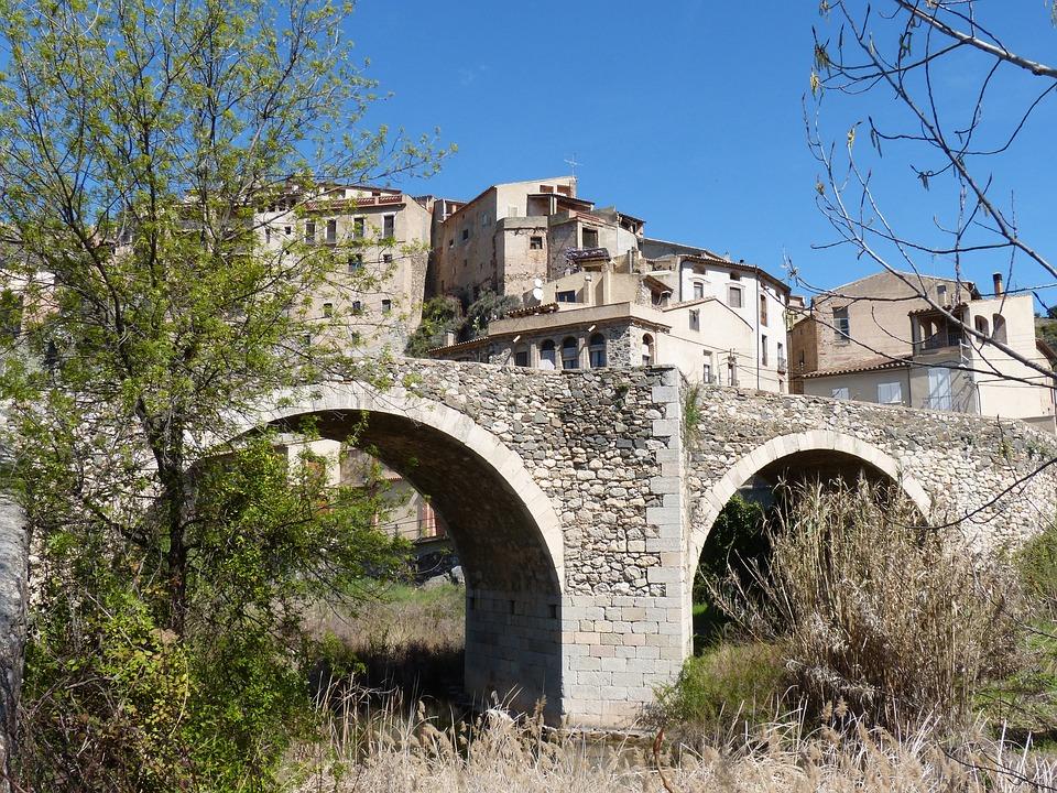 Bridge, Romanesque, Priorat, Architecture, Old, Gothic