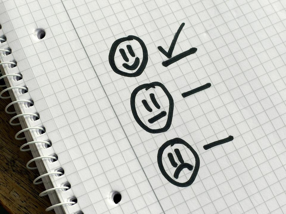 Checklist, Choice, Priorities, Survey, Questionnaire