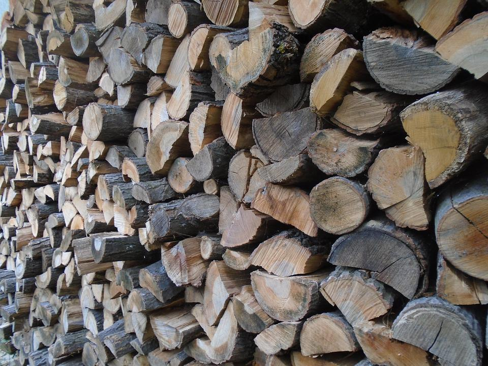 Wood, Woodpile, Fuel, Nature, Cut, Firewood, Prism