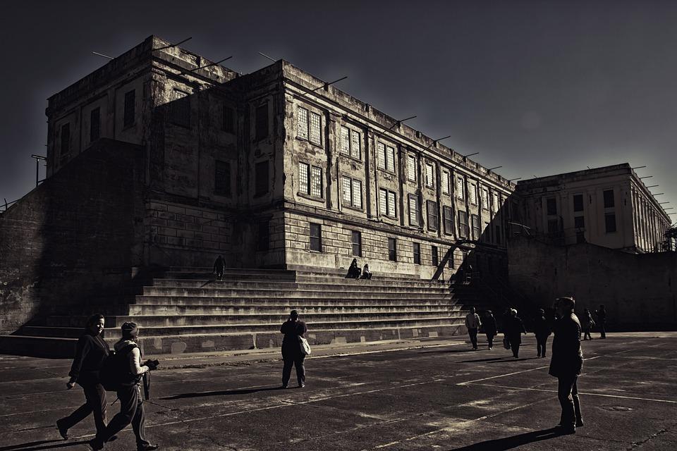 Alcatraz, Prison, San Francisco, Cell Tract