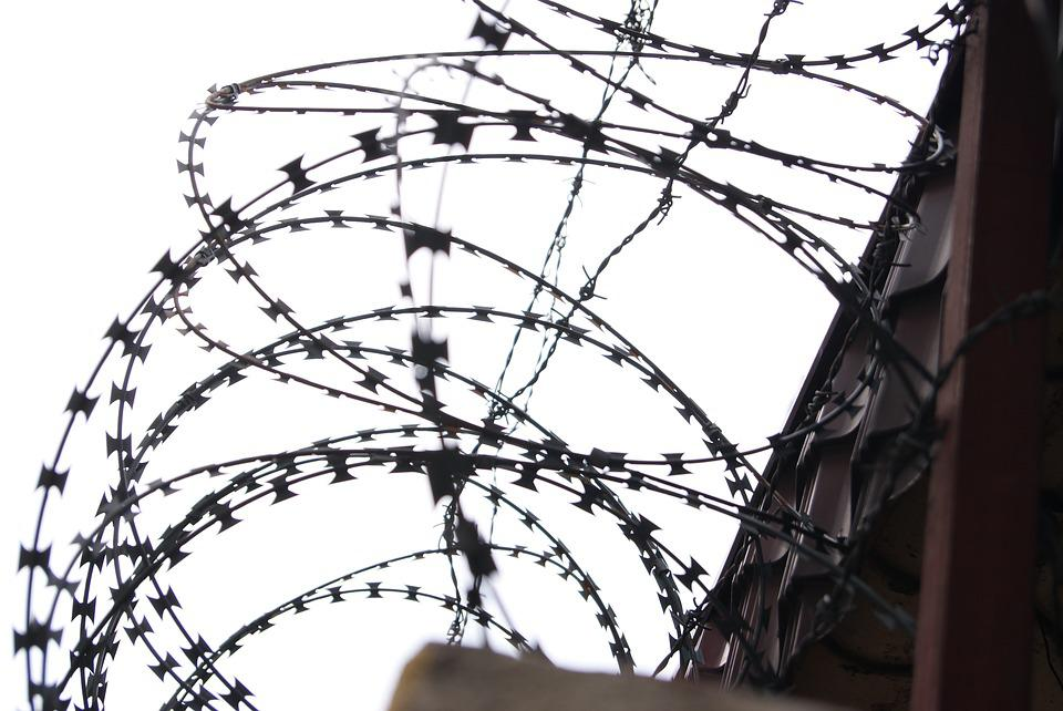 Free photo Prison Barbed Wire Security Military Wire Fence - Max Pixel