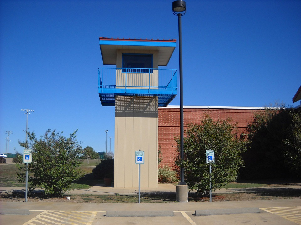 Prison, Jail, Tower, Lookout, Correctional, Protection