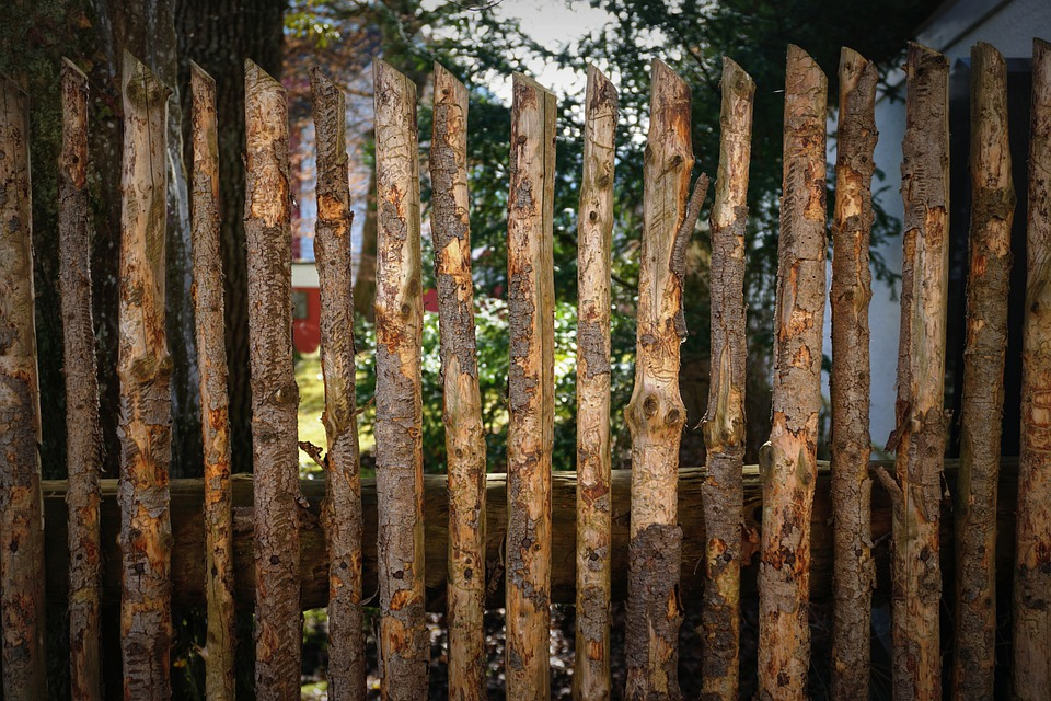 Fence, Wood, Boards, Simply, Private, Background