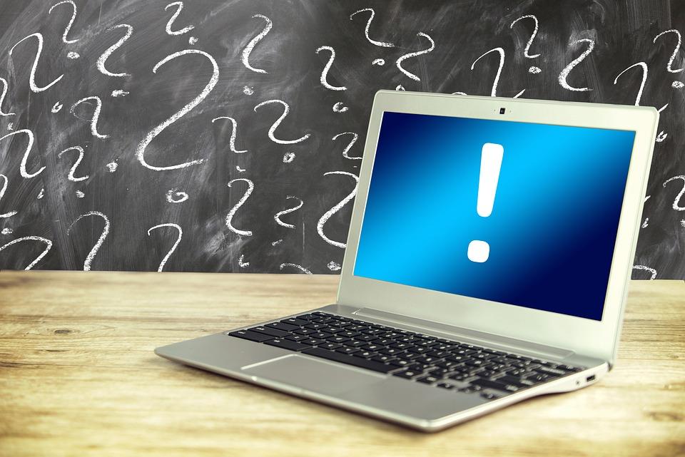 Laptop, Question, Question Mark, Problems, Online