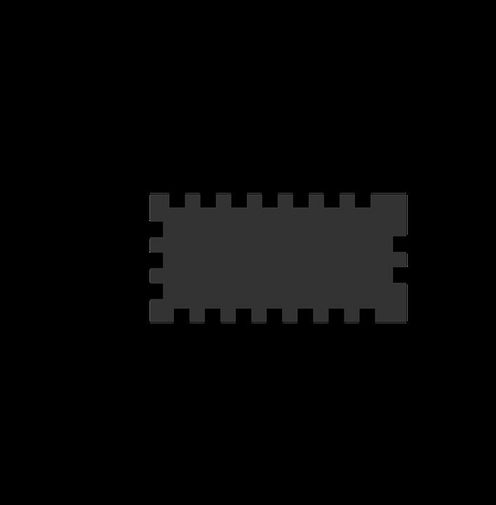 Chip, Icon, Micro, Processor, Vector, Computer, Cpu