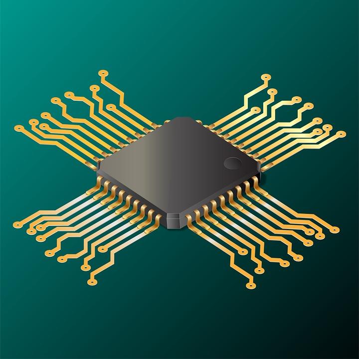 Electronics, Processor, Ic, Data, Chip, Communication