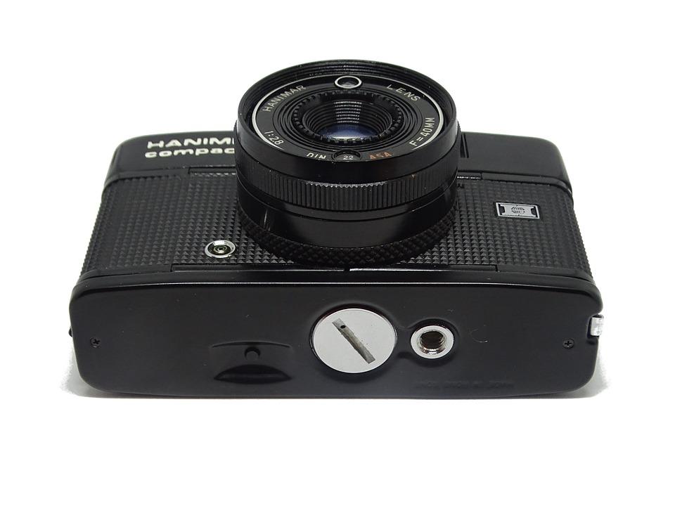 Camera, Vintage, Lens, Hanimex, Compact, Product Photo