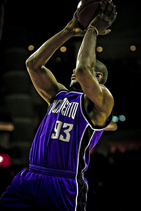 Basketball, Professional, Action, Jump Shot, Athlete