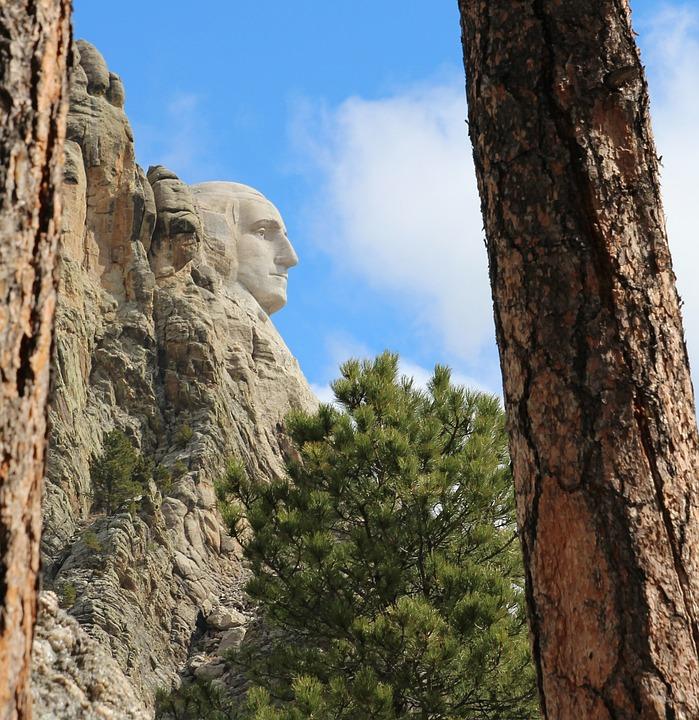 George Washington, Mount Rushmore, Profile, Nature