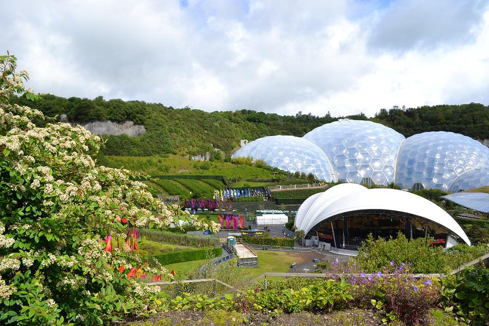 Eden, Project, Cornwall, Garden, Biosphere, Environment