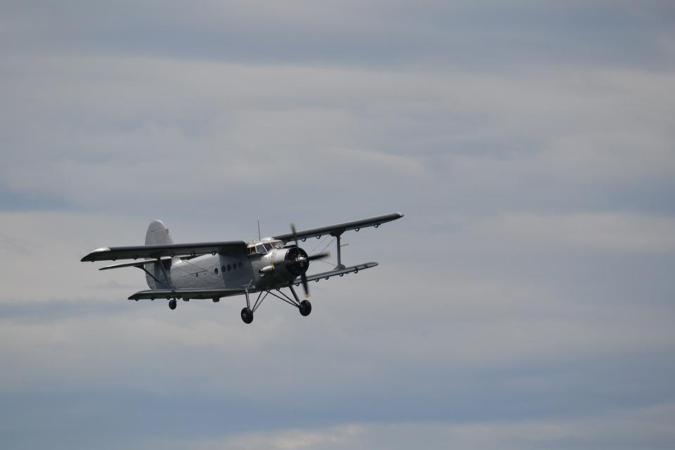Antonov, Double Decker, Propeller Plane, Aircraft