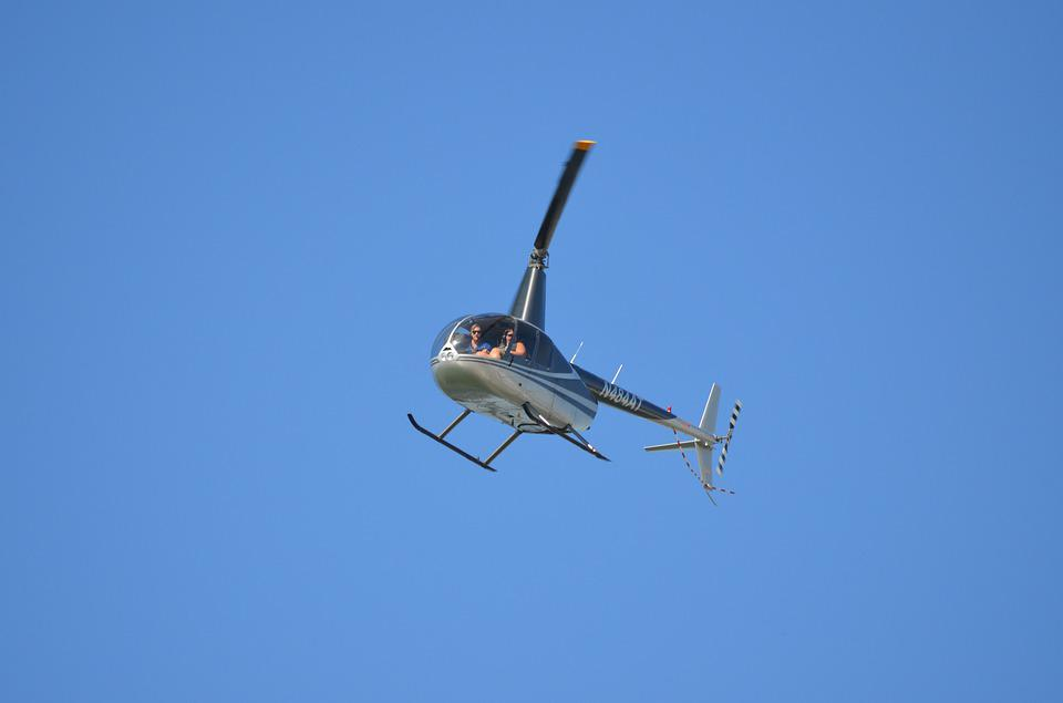 Helicopter, Tour, Flying, Chopper, Propeller, Tourist