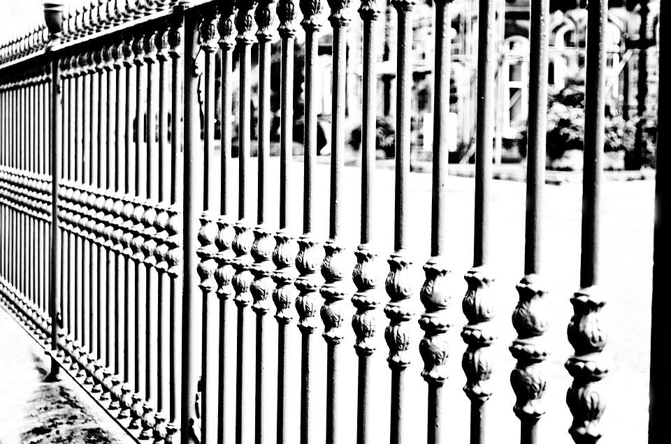 Iron, Fence, Decoration, Land, Property, Boundaries