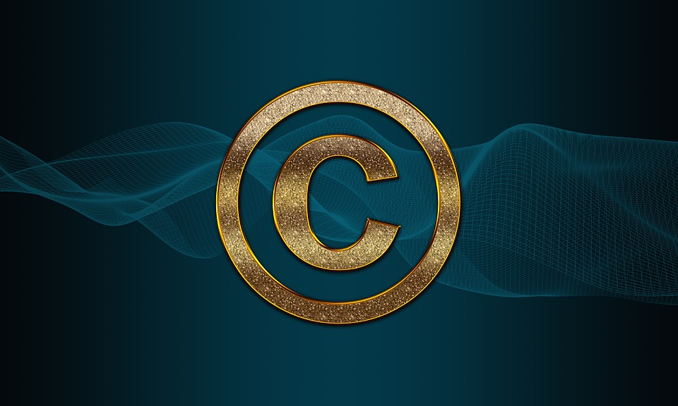 Copyright, Protection, Intellectual, Property, Symbol