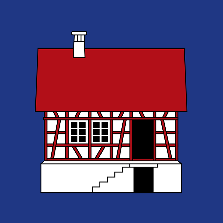 House, Home, Small, Steps, Estate, Real, Property