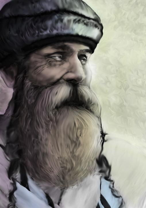 Prophet, Man, Old, Beard