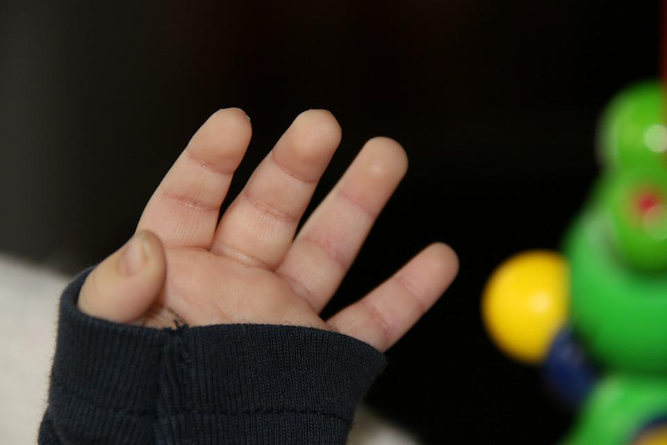Baby, Hand, Finger, Small, Protected, Child
