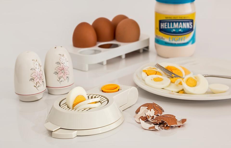 Egg Slicer, Egg, Hard Boiled, Shell, Food, Protein