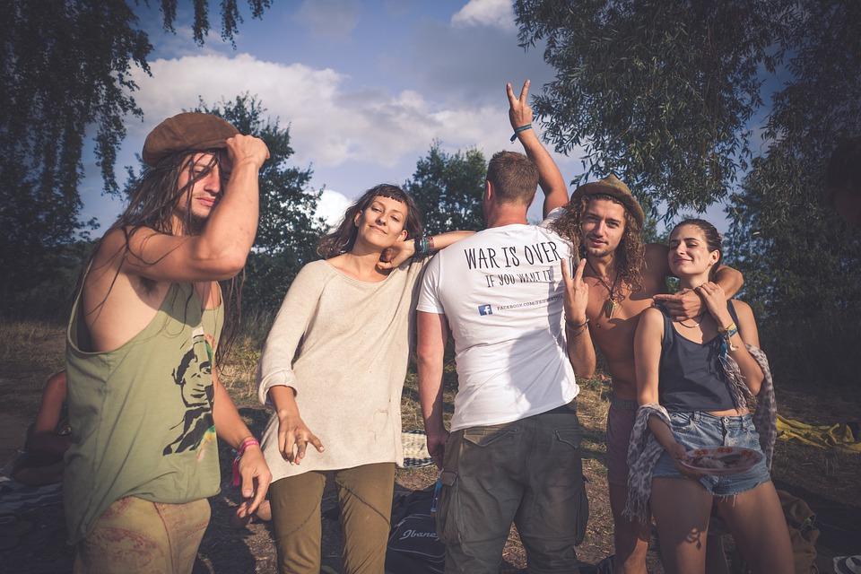 Hippie, Love, Peace, Woodstock, Protest, Fun, Festival
