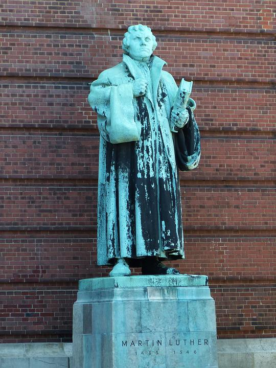 Luther, Martin Luther, Monument, Church, Protestant