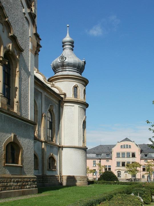 Church, Protestant, Hockenheim, Building, Religion