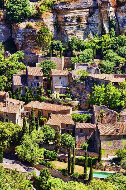 Provence, Sault, France, Village, Nature