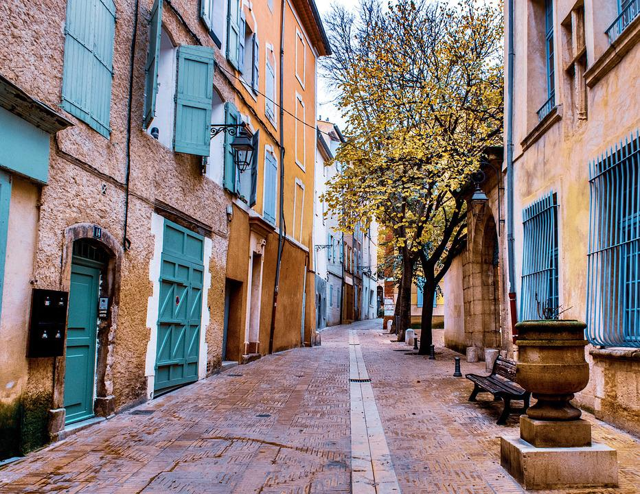 Street, Provencal Life, French Culture, Provence