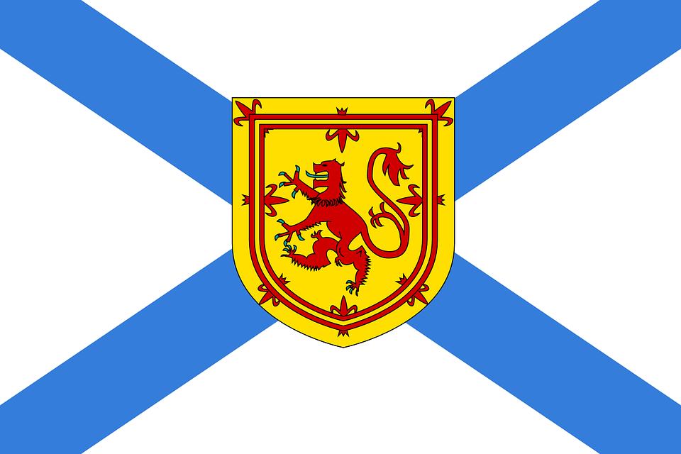 Nova Scotia, Flag, Official, Province, Maritime, Canada