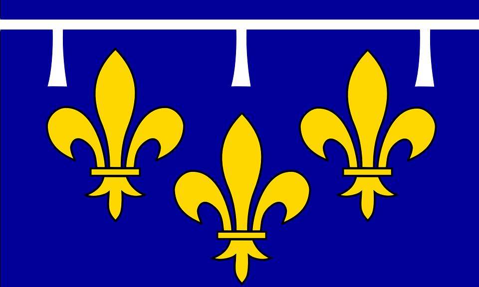 Ile-de-france, Flag, Paris Region, Province, France