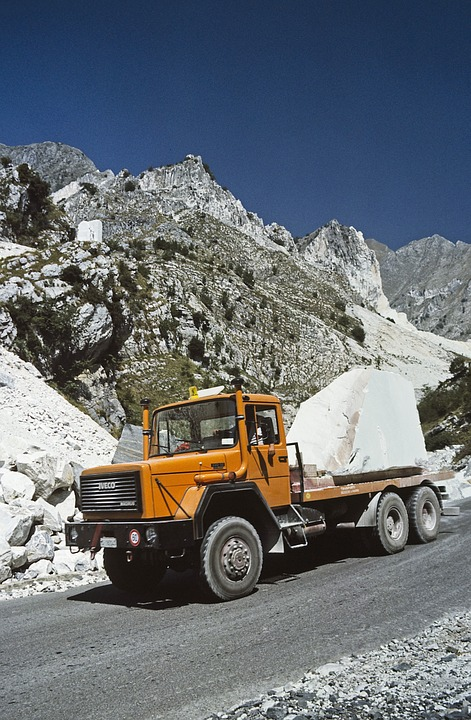 Carrara Marble, Italy, Quarry, Province, Massa Carrara