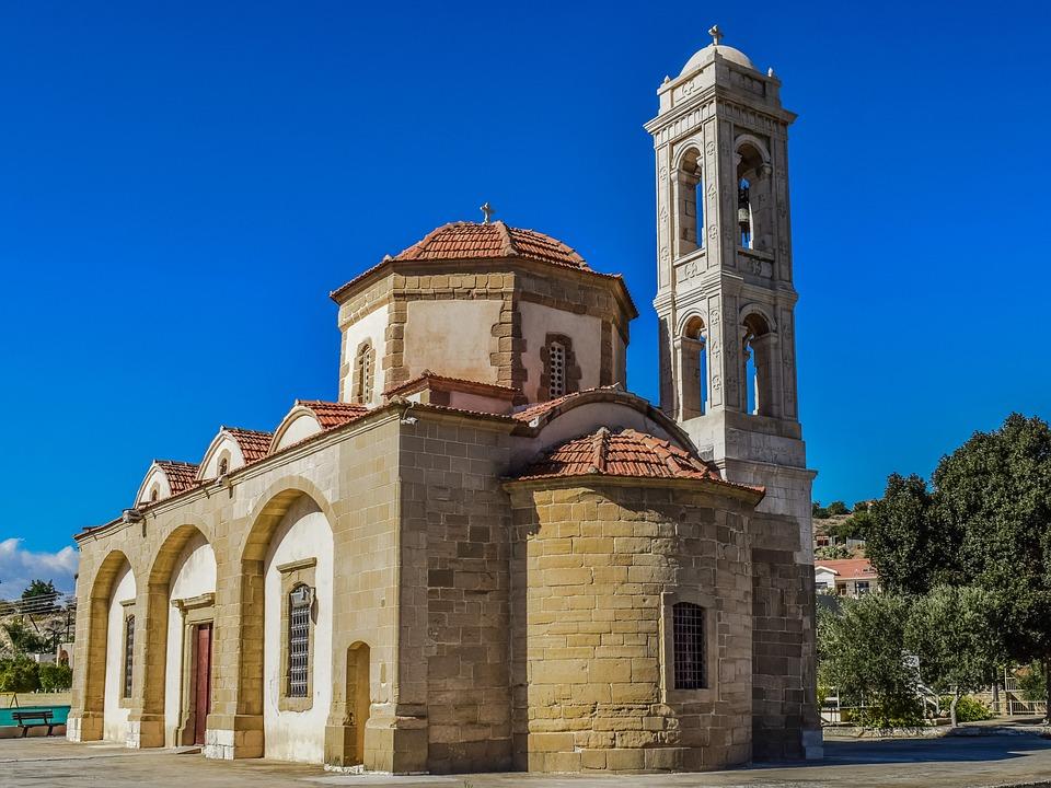 Cyprus, Psematismenos, Ayia Marina, Church, Orthodox