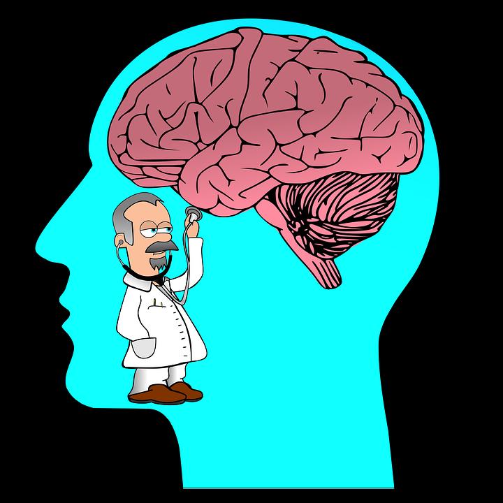 Clip Art, Mentally Ill, Psyche, Neurology