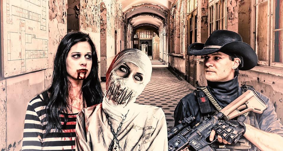 Psycho, Rifle, Beelitz, Ill, Straitjacket, Blood