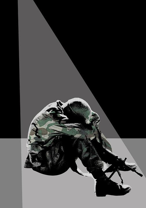 Soldier, Post-traumatic Stress Disorder, Ptsd