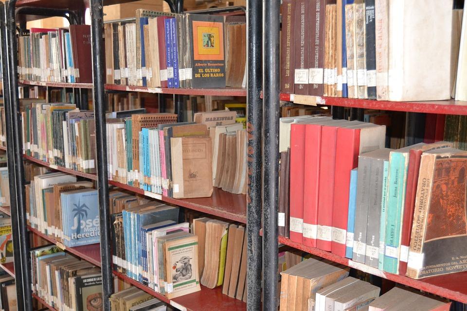 Trinidad, Cuba, Library, Books, Public