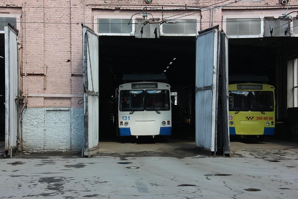 Trolley Bus, Driver, Route, Transport, Public Transport