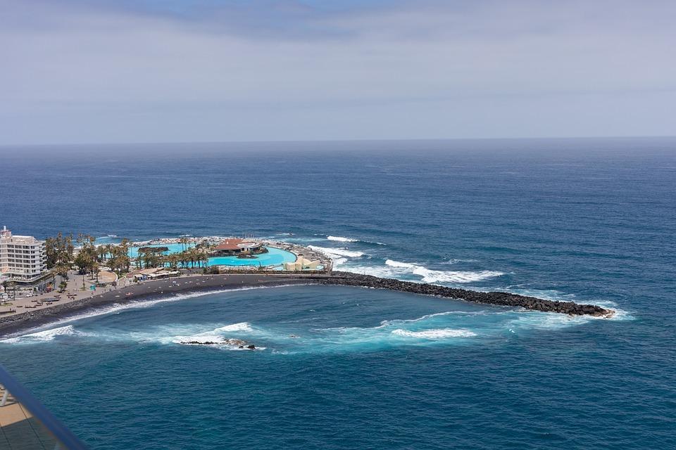 Puerto De La Cruze, Tenerife, Nature, Sea, Landscape