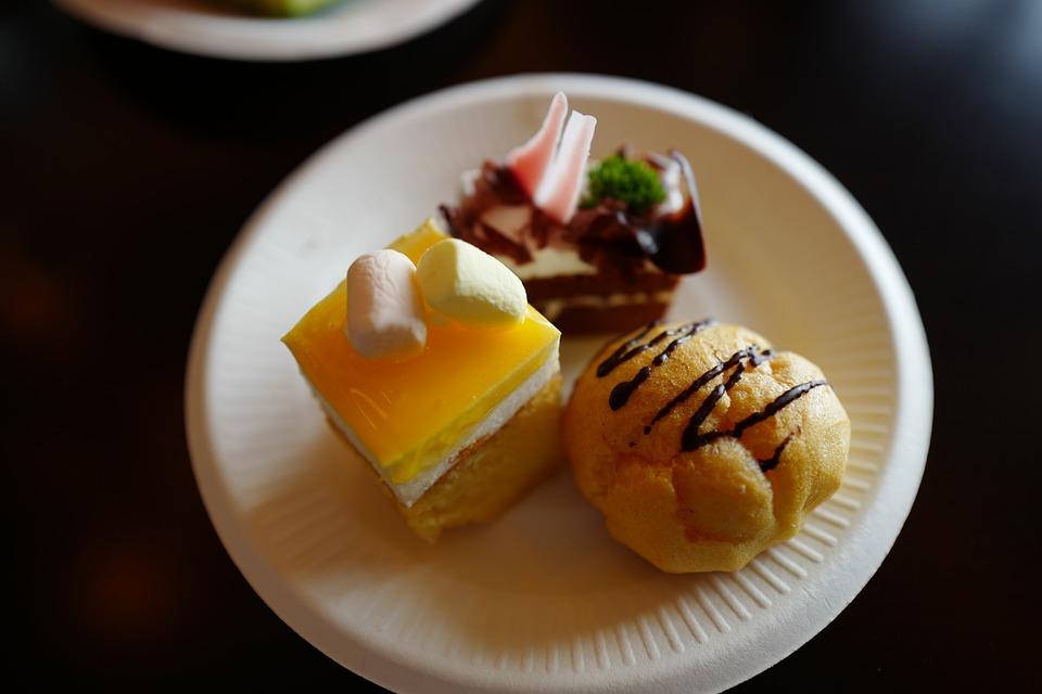 Pastry, Puffs, Dessert, Sweet, Cake