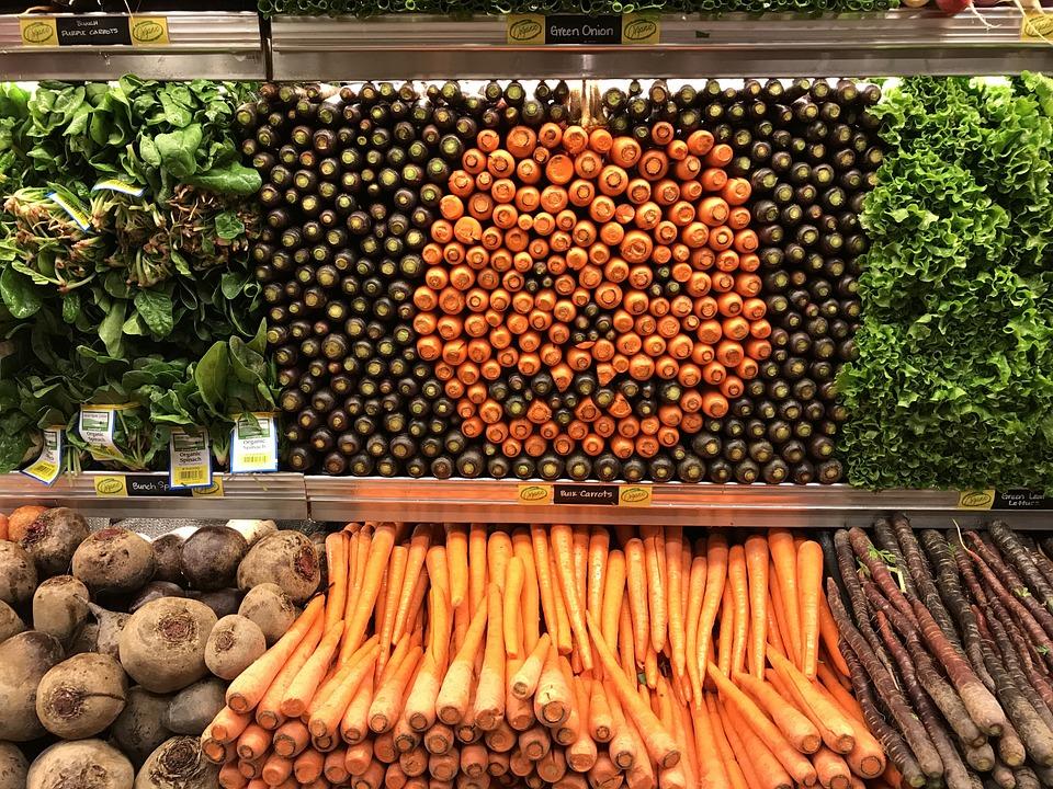 Vegetables, Pumpkin, Carrots