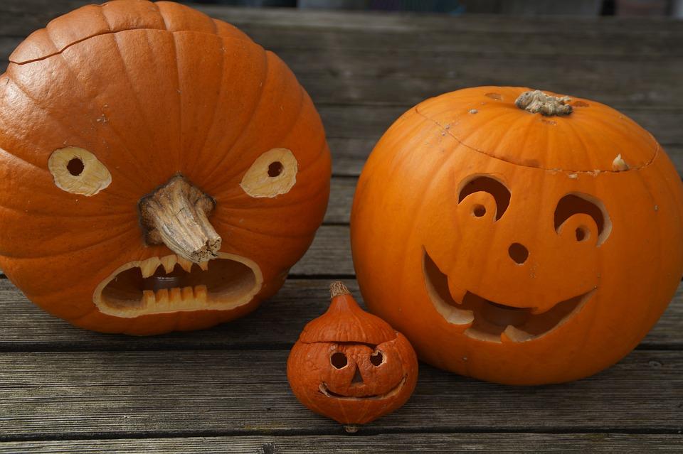 Pumpkin, Pumpkin Face, Halloween, Face, Autumn, Fun